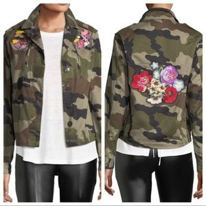 Romeo & Juliet Couture Camo Embroidered Jacket M